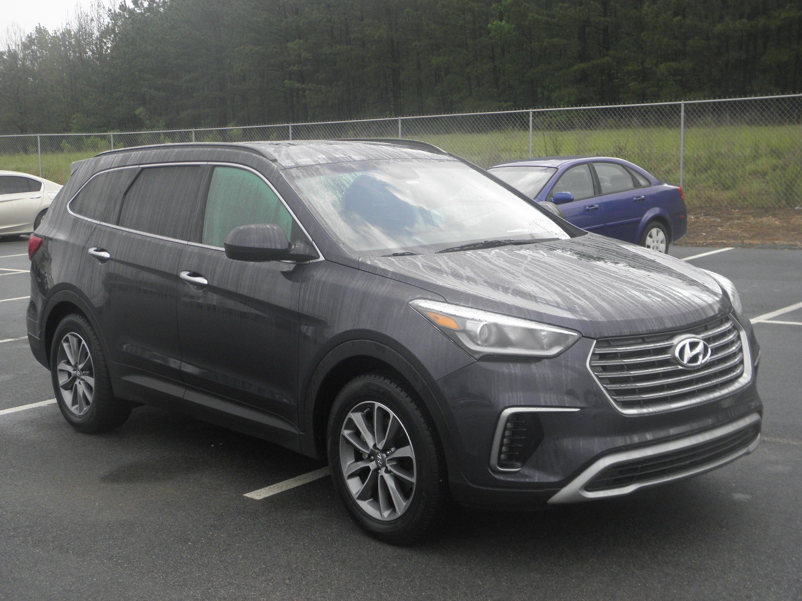 pre owned 2017 hyundai santa fe se sport utility in milledgeville hx7334 butler honda. Black Bedroom Furniture Sets. Home Design Ideas