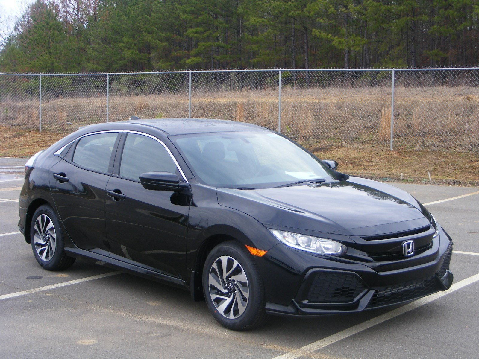 new 2017 honda civic hatchback lx hatchback in milledgeville h17161 butler honda. Black Bedroom Furniture Sets. Home Design Ideas