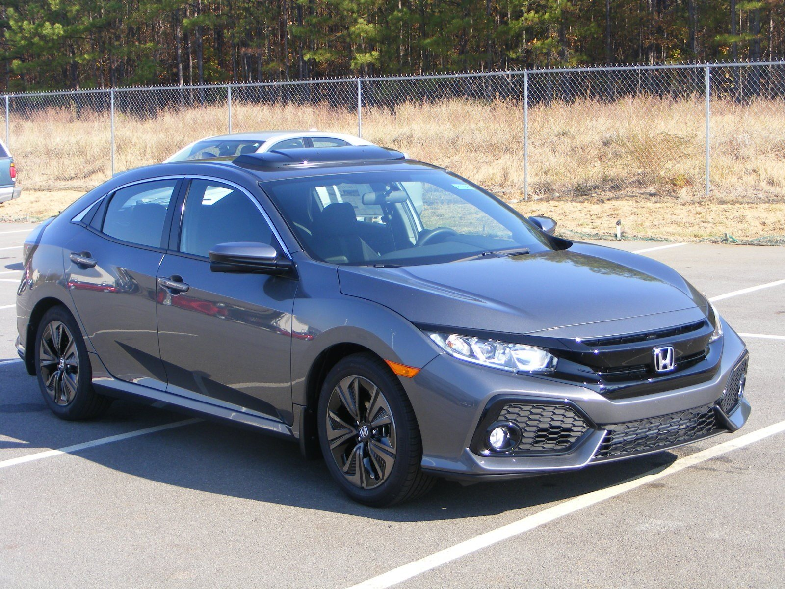new 2017 honda civic hatchback ex hatchback in milledgeville h17081 butler honda. Black Bedroom Furniture Sets. Home Design Ideas