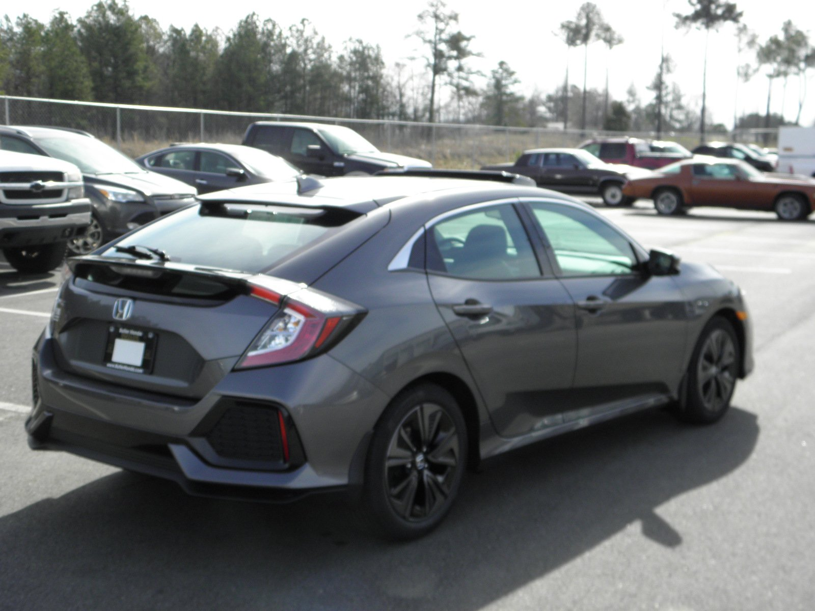 new 2017 honda civic hatchback ex l hatchback in milledgeville h17223 butler honda. Black Bedroom Furniture Sets. Home Design Ideas
