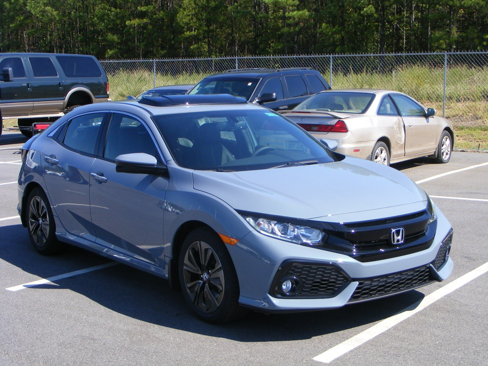 new 2017 honda civic hatchback ex l hatchback in